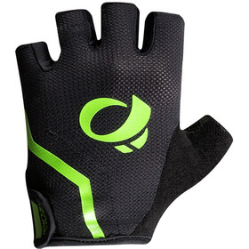 PEARL iZUMi Select Guantes largos Hombre, black/screaming green